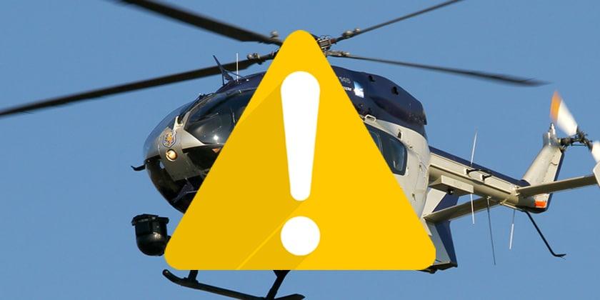 Hubschrauber-Übungen am Ettelsberg 06. bis 09.09.18